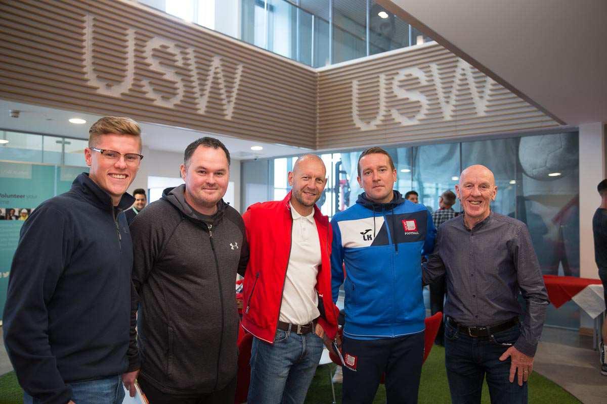 Alumni Big Weekend 2018 - VIP guests USW Sport