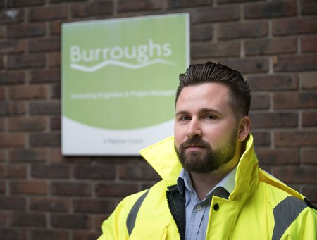 Hugh Jones (web sized pic) - Surveying graduate