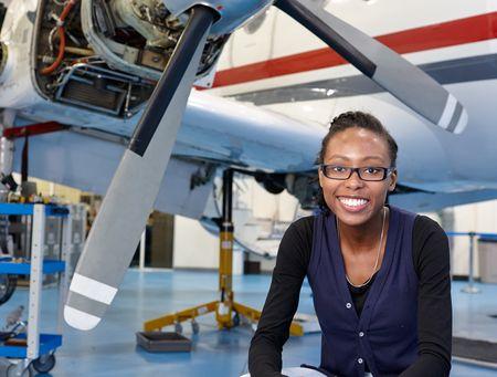Aircraft Maintenance Engineering Student