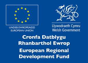 ERDF Logo - Research and Innovation