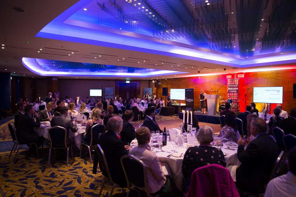 Alumni Awards 2018 - Ballroom at Hilton Cardiff