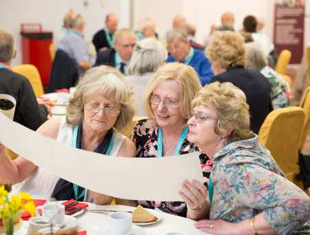Alumni Afternoon Tea at Caerleon - April 2016
