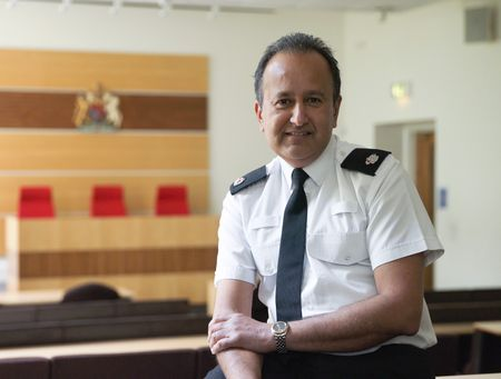 Jay Dave, Police Sciences degree, former Superintendent of South Wales Police