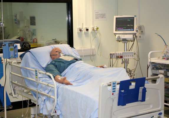 Clinical skills for patient care are an essential part of nursing and midwifery training, and are taught using real equipment, with students able to practice on models or manikins before they have any direct patient contact