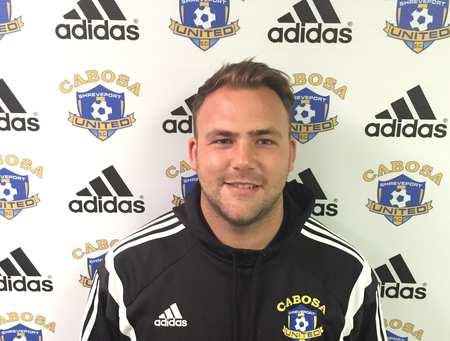 Alumni Greg Palmer, Director of Coaching for Shreveport United Soccer Club