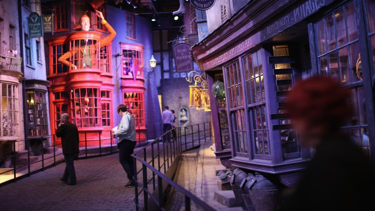 Harry Potter Studio Tour at Warner Brothers