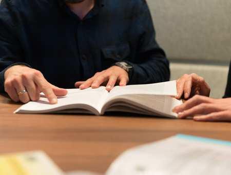 Generic student studying classroom
