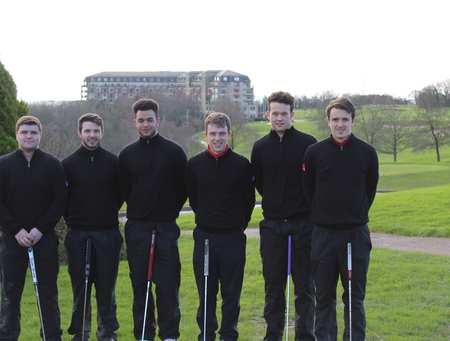 Golf Team at Celtic Manor 2016