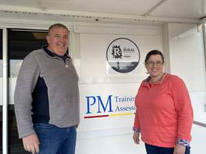 Paul and Pam Martin, PM Training. CEMET client
