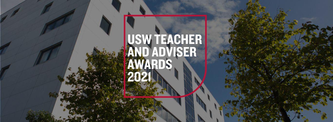 Teacher and Adviser Awards