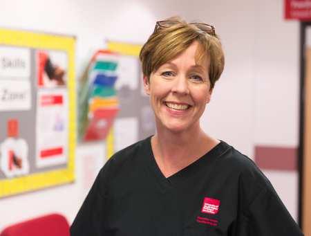 Lynda Civil, nurse and academic lecturer nursing degree