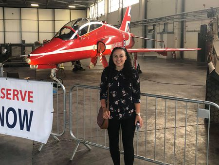 Chaniece Truelove graduated from the MEng Aeronautical Engineering in 2017,