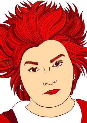 Work by Beth Richards, BA (Hons) Illustration student
