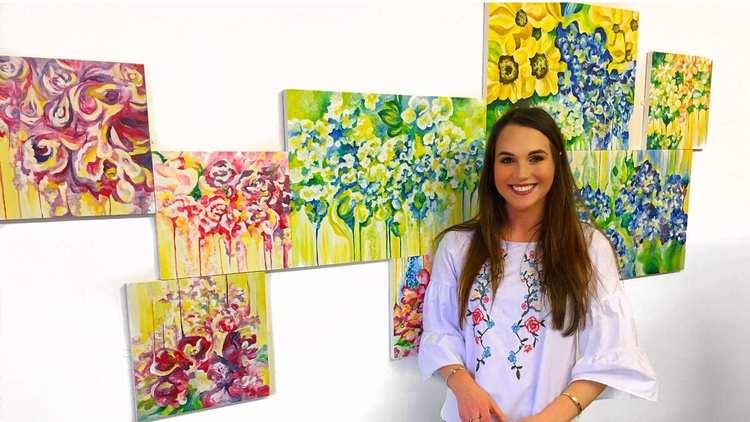 Alicia Hyde, Creative & Therapeutic Arts andMA Arts Practice graduate
