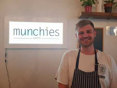 Jordan Wenzel - Munchies owner and USW graduate