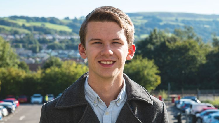 Aaron Jones, BSc Civil Engineering student
