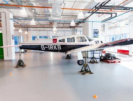 Dubai aeroplane