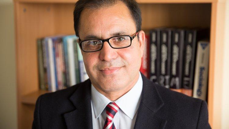 Dr Ali Wardak, criminology