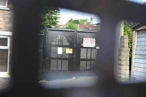 Alley gates Cadoxton