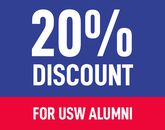 20% Alumni Discount on Fees