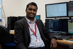 Amila Perera, Head of Cyber Security at USW's Newport Campus, and Not2Phish Project Adviser and Product Architect