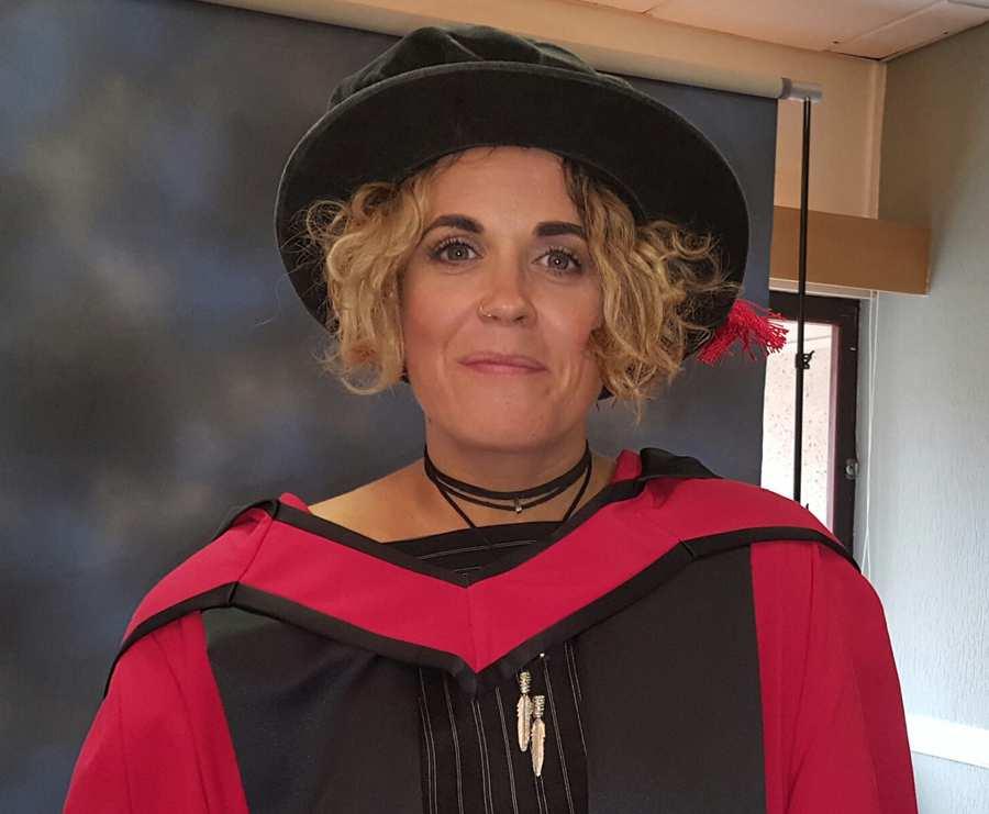 Amy Wadge - honorary degree