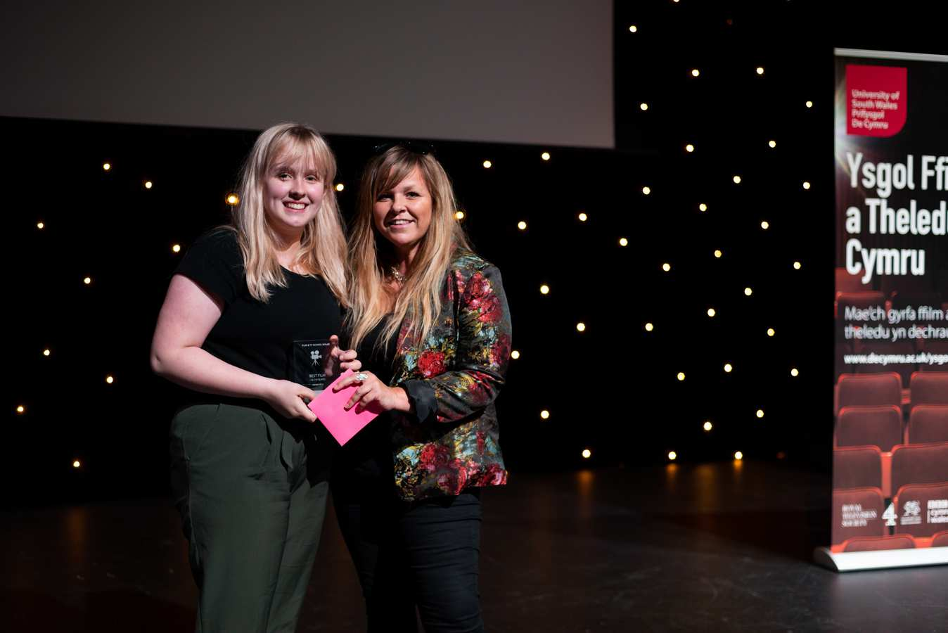 BFI Academy at Media Active - Best Film 16-19 with Zoe Rushton, Talent Manager at BBC Wales. FTSW Awards, July 2019
