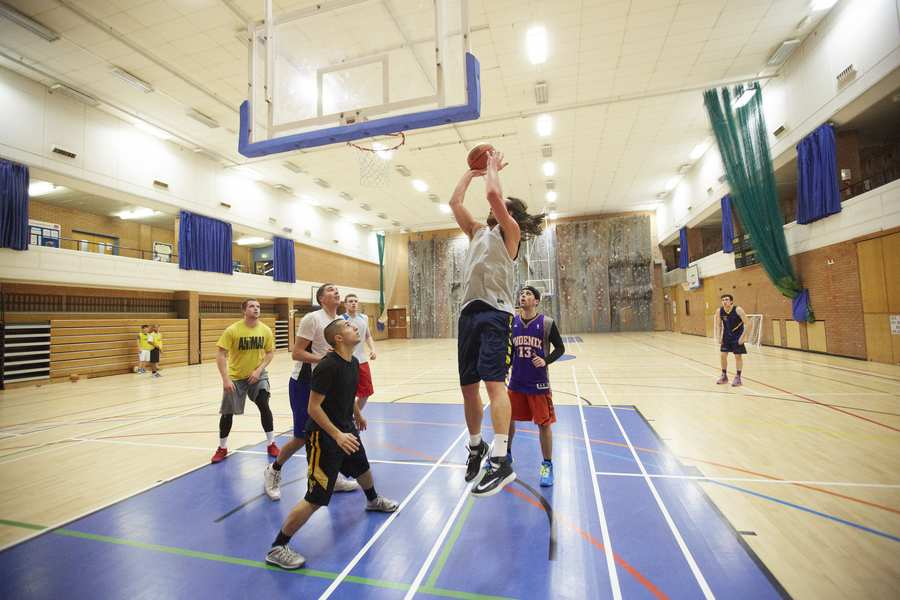 Treforest Sport Centre Basketball