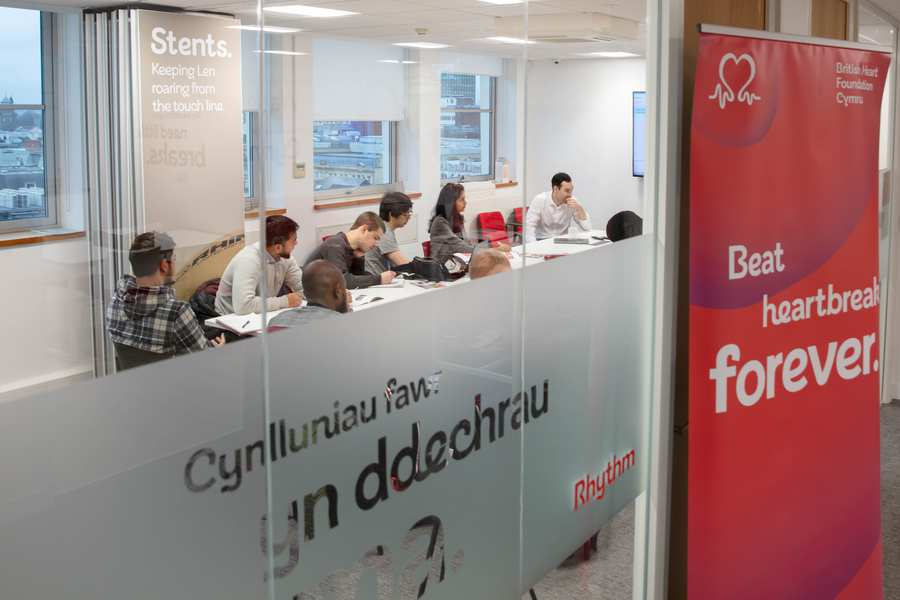 Business Clinic Meeting with British Heart Foundation