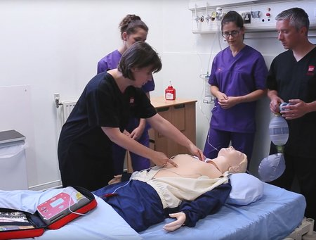 How to perform CPR - Nursing Clinical Simulation