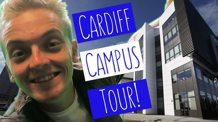 Cardiff Campus Tour Tom Blogger