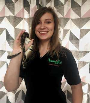 Charlotte Blackmore – AnimalEd. Springboard Startup Award winner, November 2020. Neil Gibson