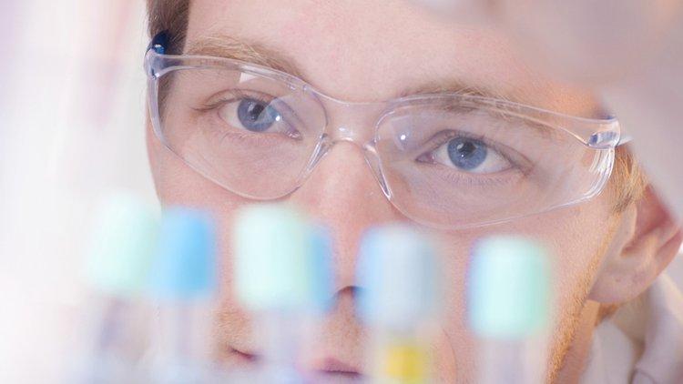 Chemistry student istock