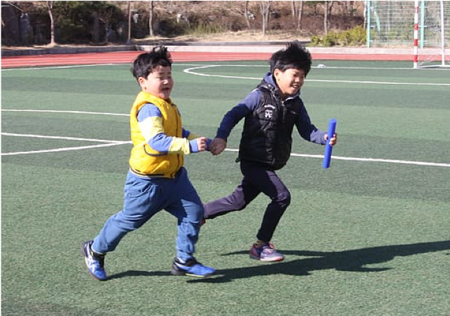 Children Playing Sport