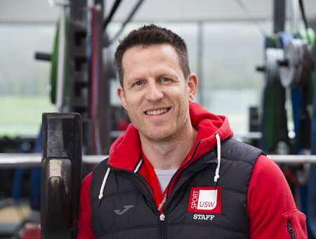 Chris Tombs, Strength and Conditioning, USW Sport