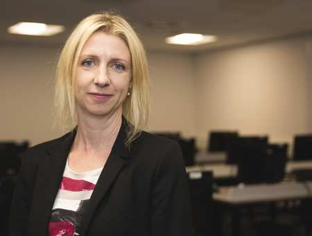 Clare Johnson, Head of Cyber Security at USW
