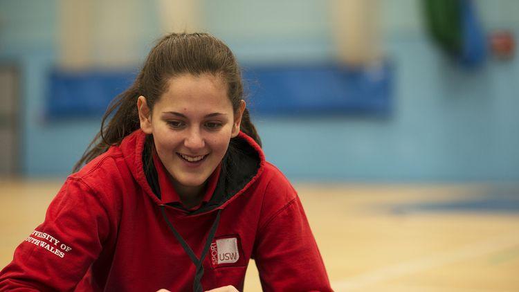Female Sport Student
