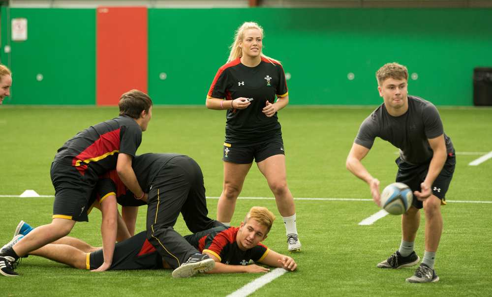 USW has joined forces with the WRU. Blues and Dragons on a rugby foundation degree. Neil Gibson, May 2018