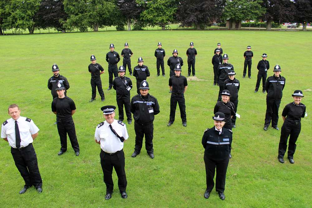 Wiltshire Police recruits