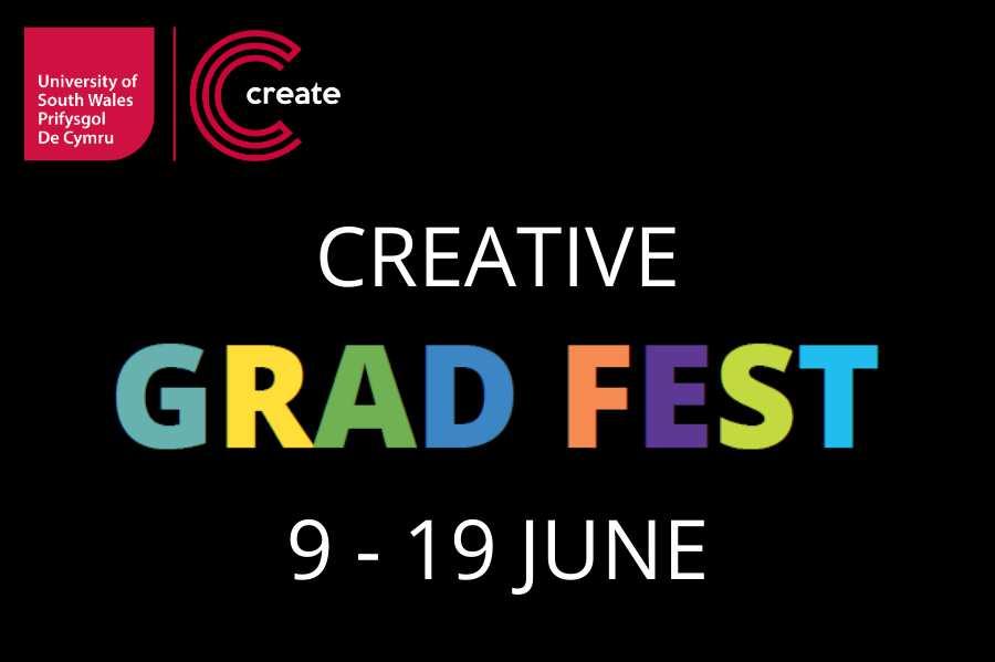 Creative Grad Fest 2020 Logo Date HQ