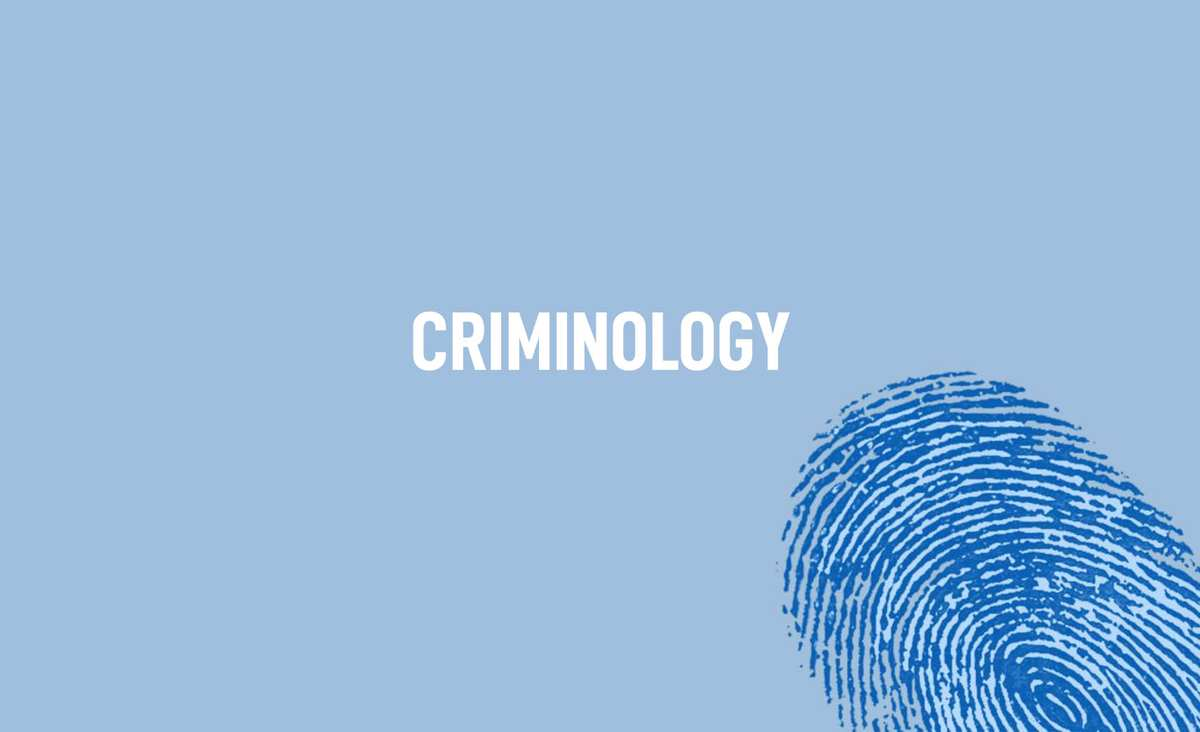 Criminology Degrees Banner