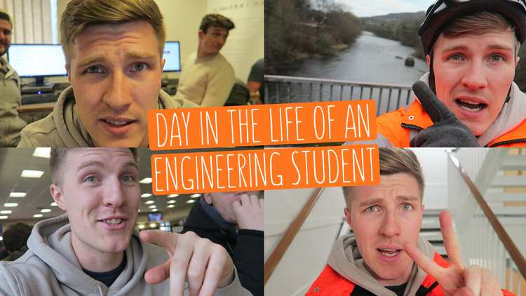 Day in the life of an engineering student Thumbnail