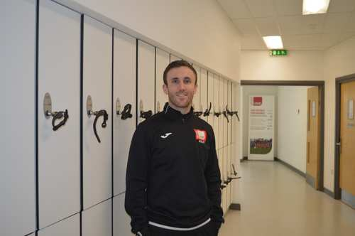 Chris Emsley Sports Development And Coaching lecturer.JPG