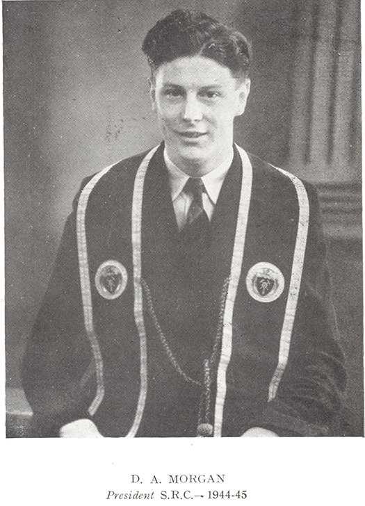 SU President David mogan
