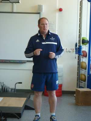 Des Ryan of Arsenal Academy gives some insights into his work in professional football