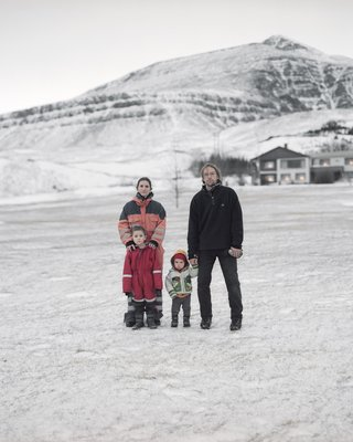 Displaced Family - Christa, Martin, Ernst and Karl