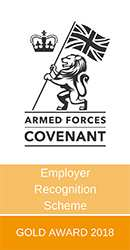 Armed Forces Employer Recognition Scheme - small logo