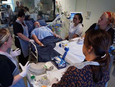 Clinical Simulation Centre - COVID-19 Training