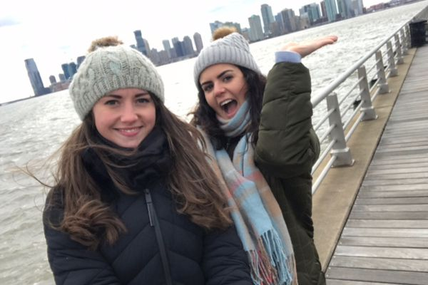 """""""Living and working in New York was surreal"""" says Elisedd"""