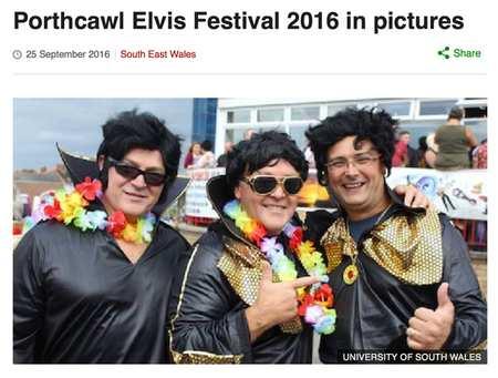 Elvis Festival - BBC Online Photojournalism